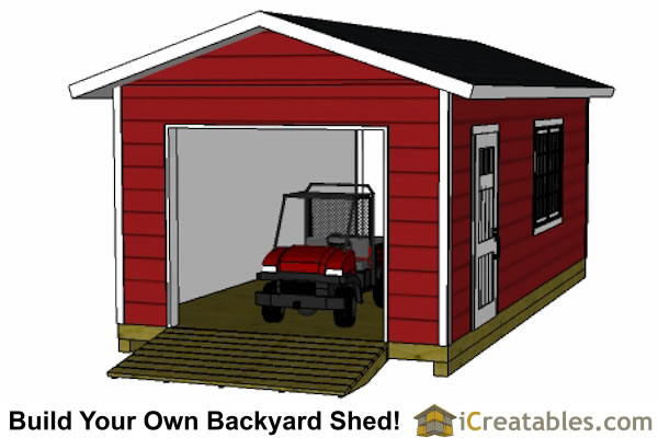 Gambrel Storage Shed Plans