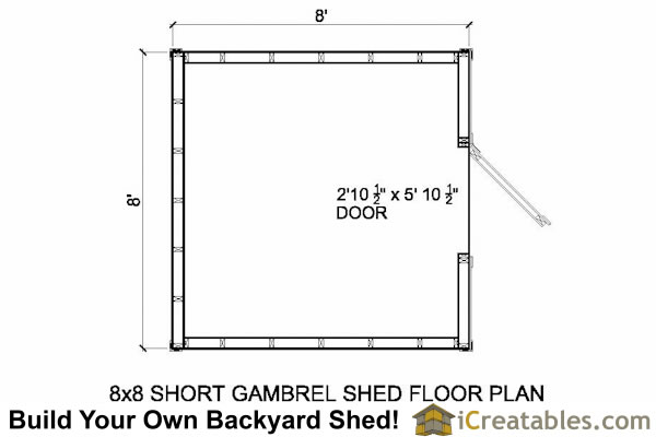 Knowing Gambrel Shed Wall Height