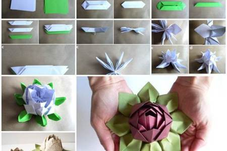 Lotus flower craft for kids beautiful flowers 2018 beautiful flowers patterns craft this pretty paper lotus flower with our tranquil tutorial diy paper lotus flower lotus flower how to make paper flowers in different ways mightylinksfo