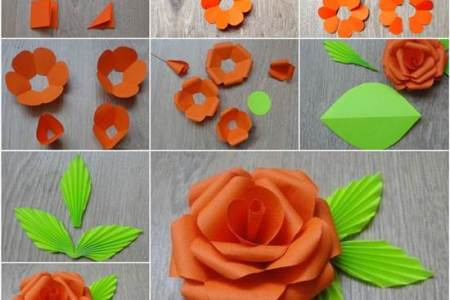 Easy paper cutting flowers new artist 2018 new artist make easy paper flowers fast fun tutorials on craftsy circle flower collection folding paper flowers craft petal flowers kids crafts folding paper mightylinksfo