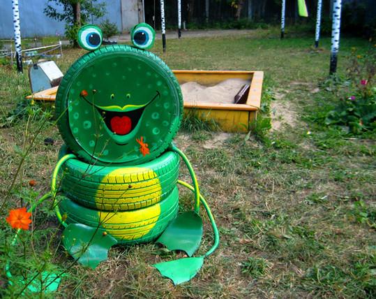 Items Ideas Art Recycled Garden