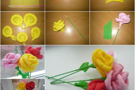 Easy D Paper Flowers For Spring Red Ted Art S Blog We Love Crafts And These DIY How To Make