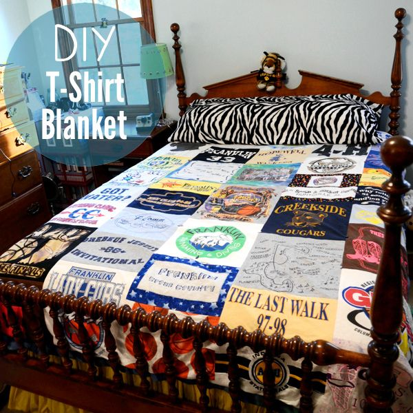 Turn Old T Shirts Quilt