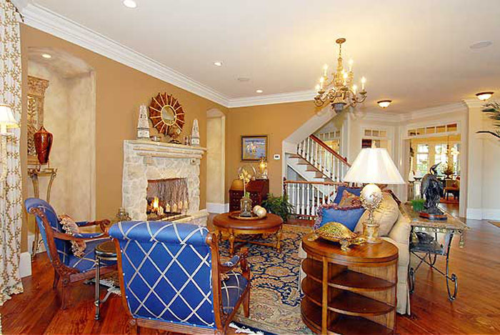Traditional Shingle Style Classic American Cottage With