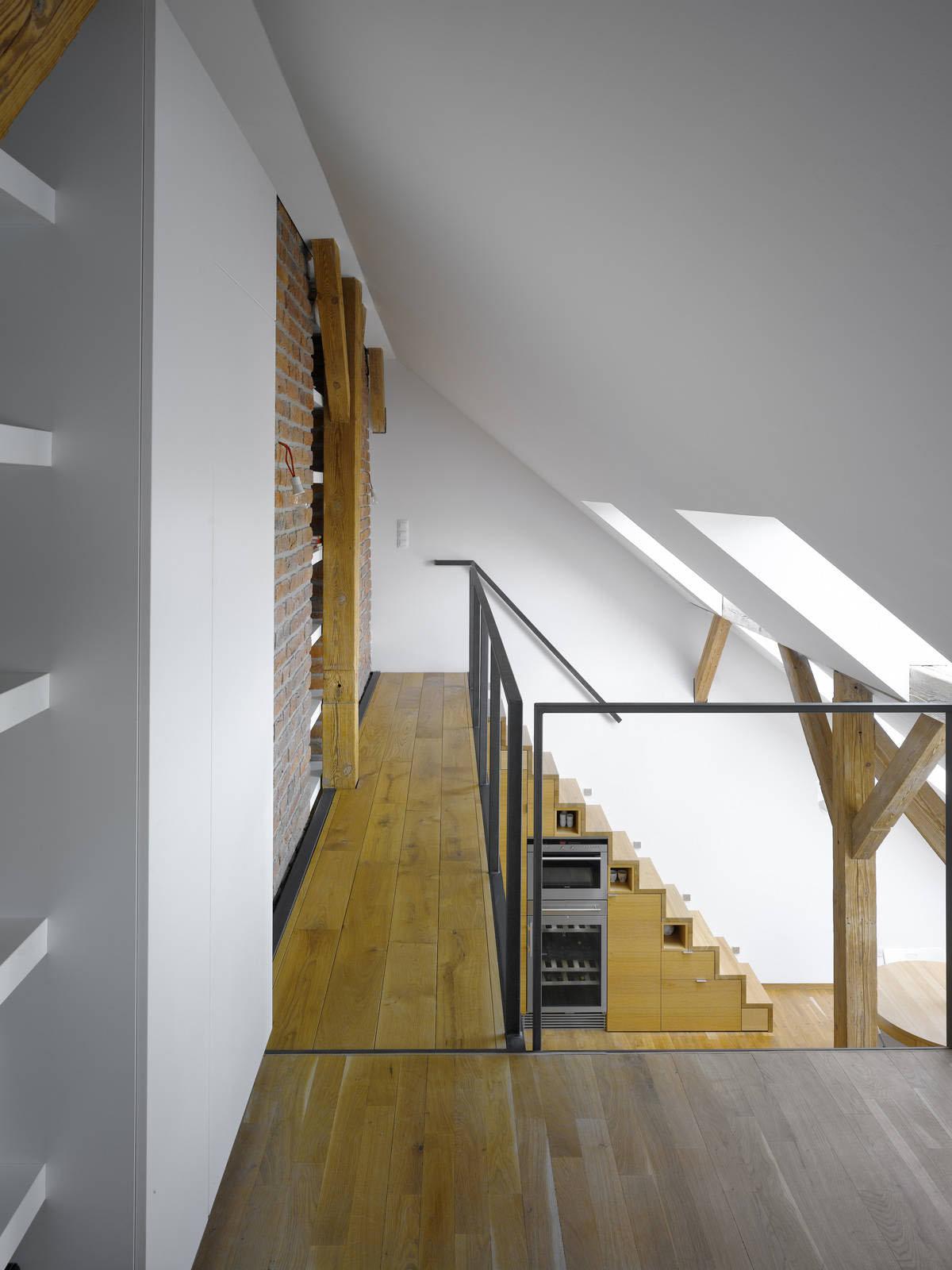 Small Attic Loft Apartment In Prague Idesignarch