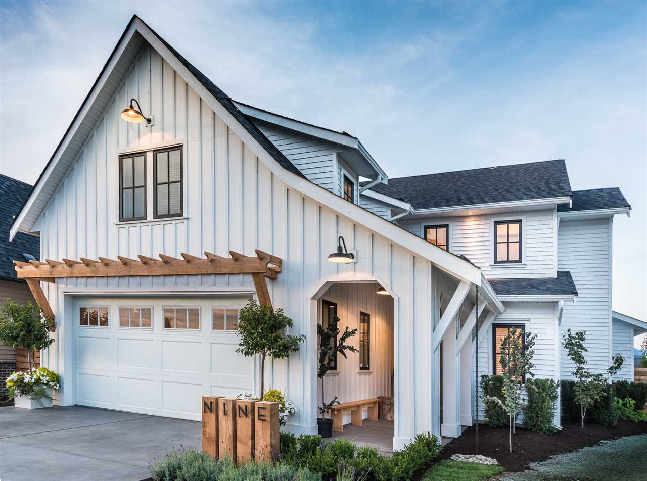 Custom Dream Home With Traditional Board And Batten Look