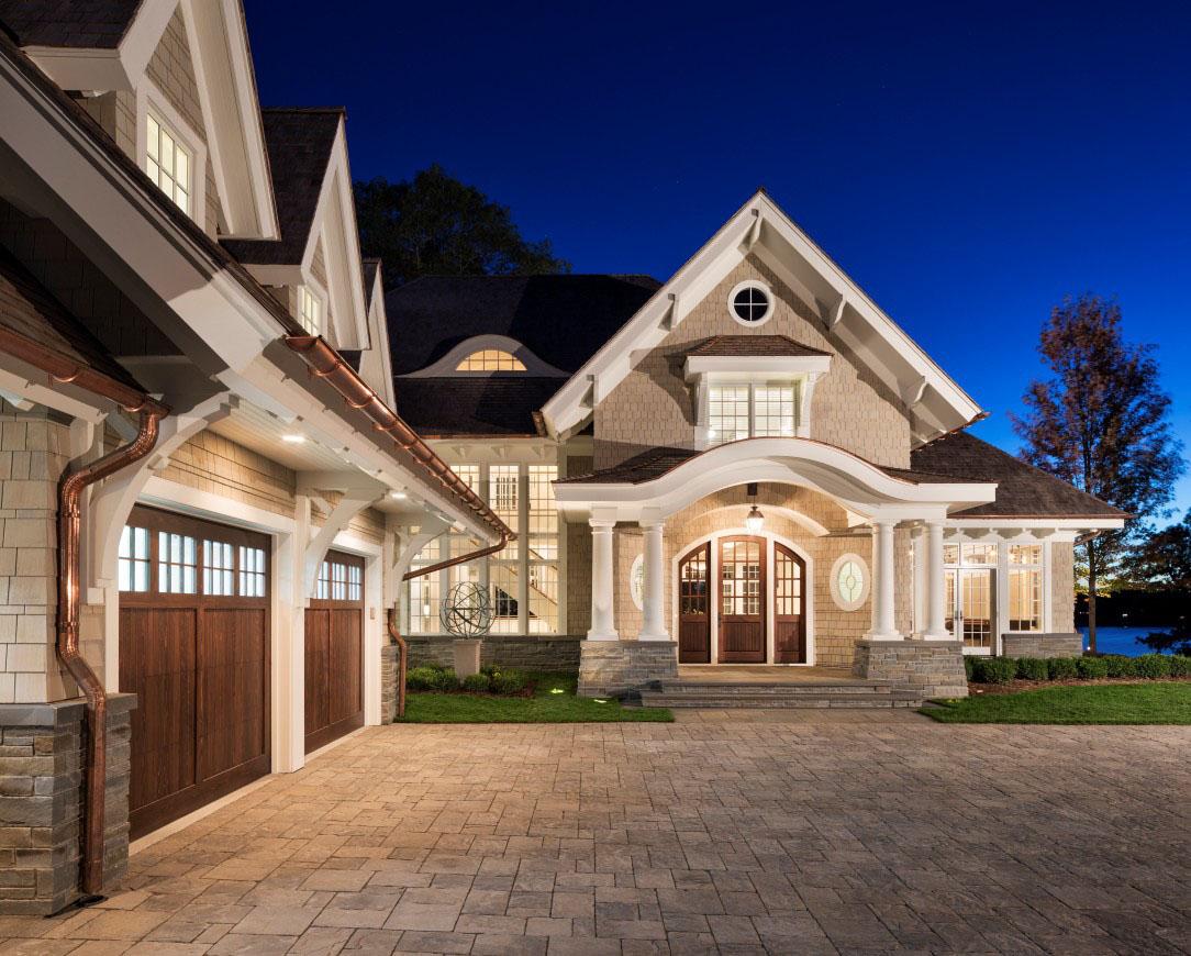 Shingle Style Lakeside Cottage Mansion Idesignarch