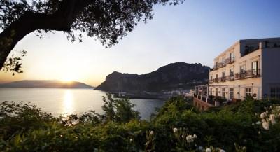 J.K. Place Capri Hotel Elegant Seaside Decor | iDesignArch ...