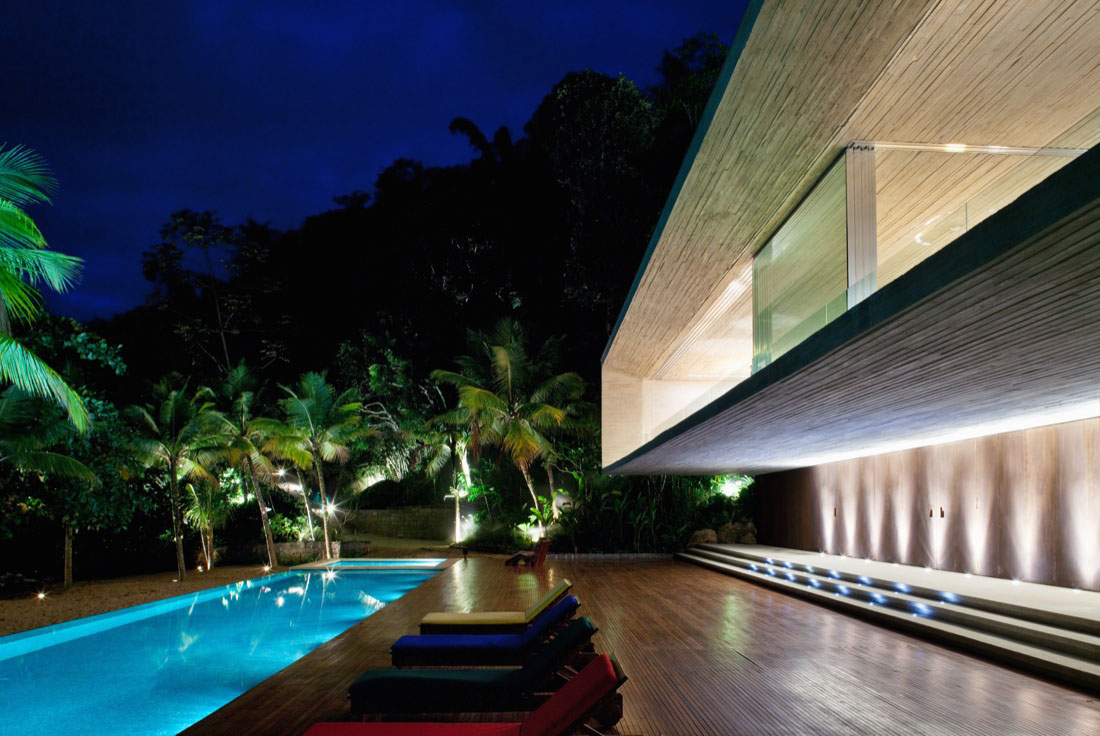 Modern Beach House On The Brazilian Coast Idesignarch