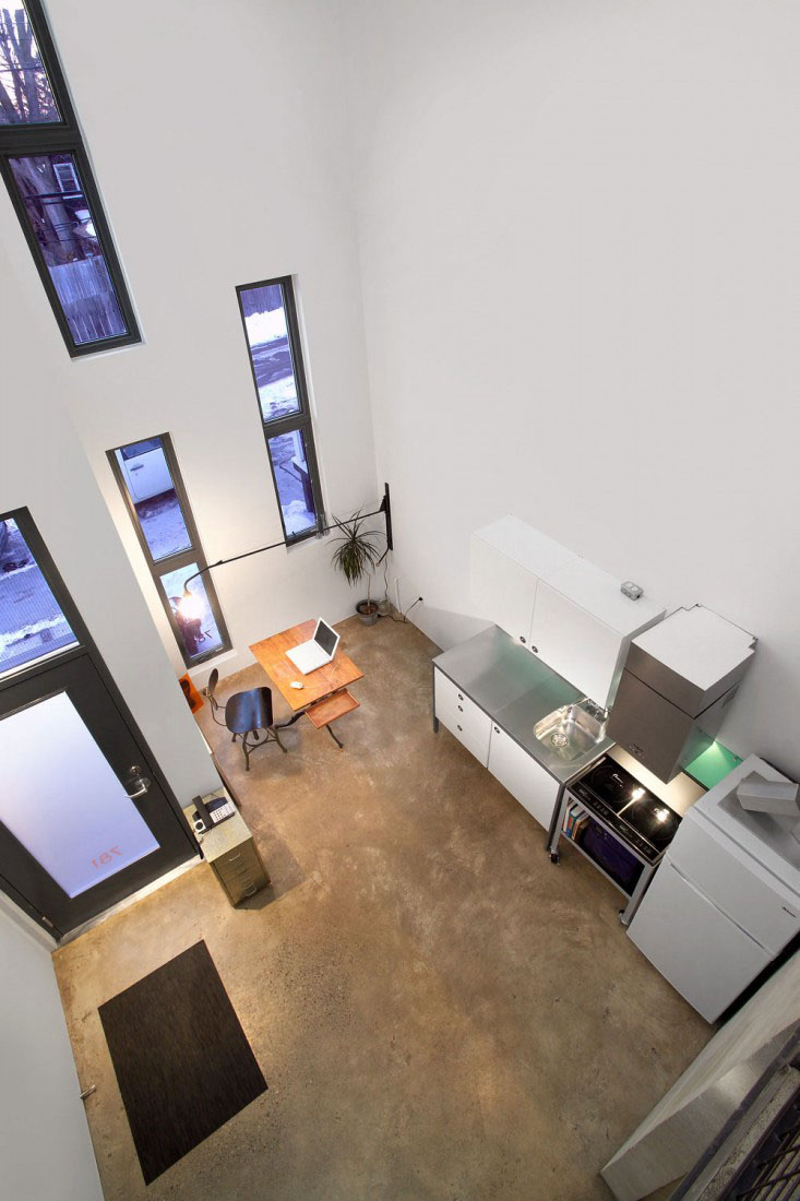 Tiny Modern Apartment