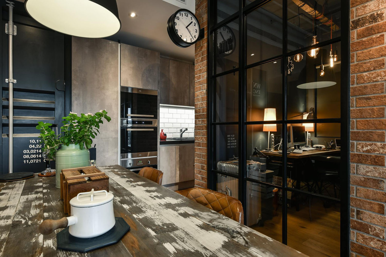 Charming Industrial Loft In New Taipei City Idesignarch
