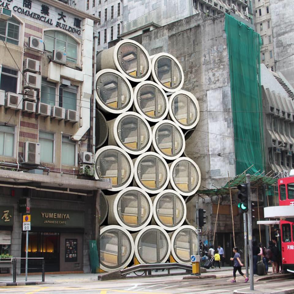 Concrete Water Pipe Converted Into An Innovative Tiny Hong