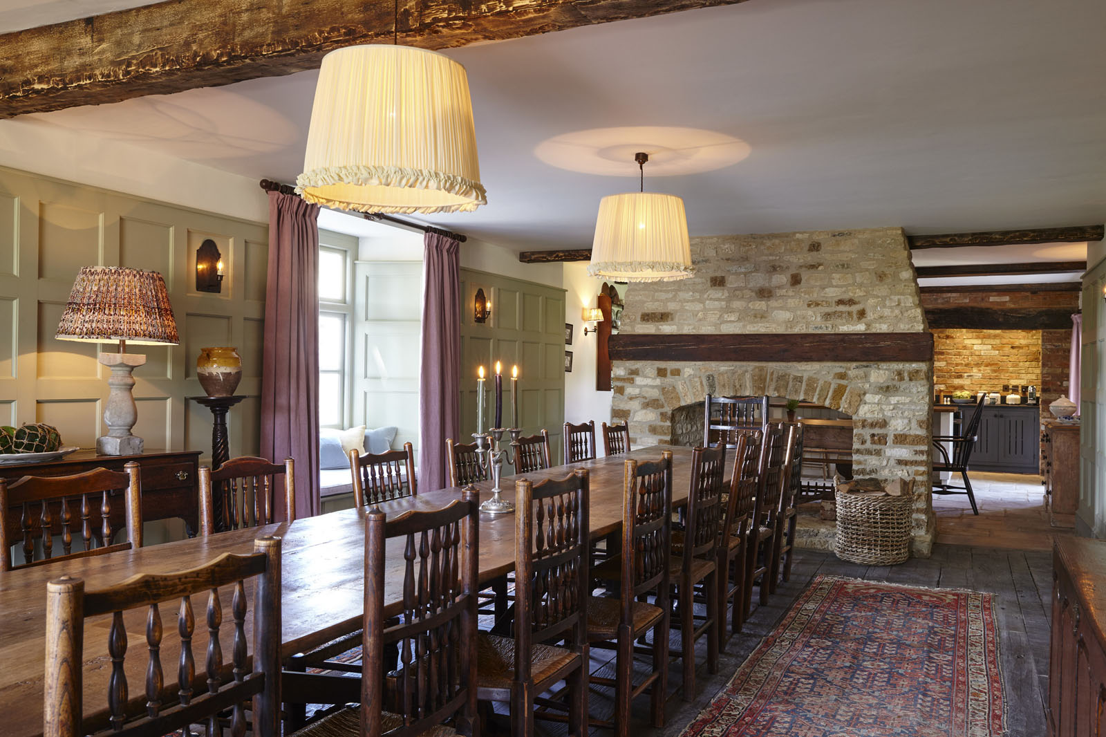 Farmhouse Rustic Kitchen