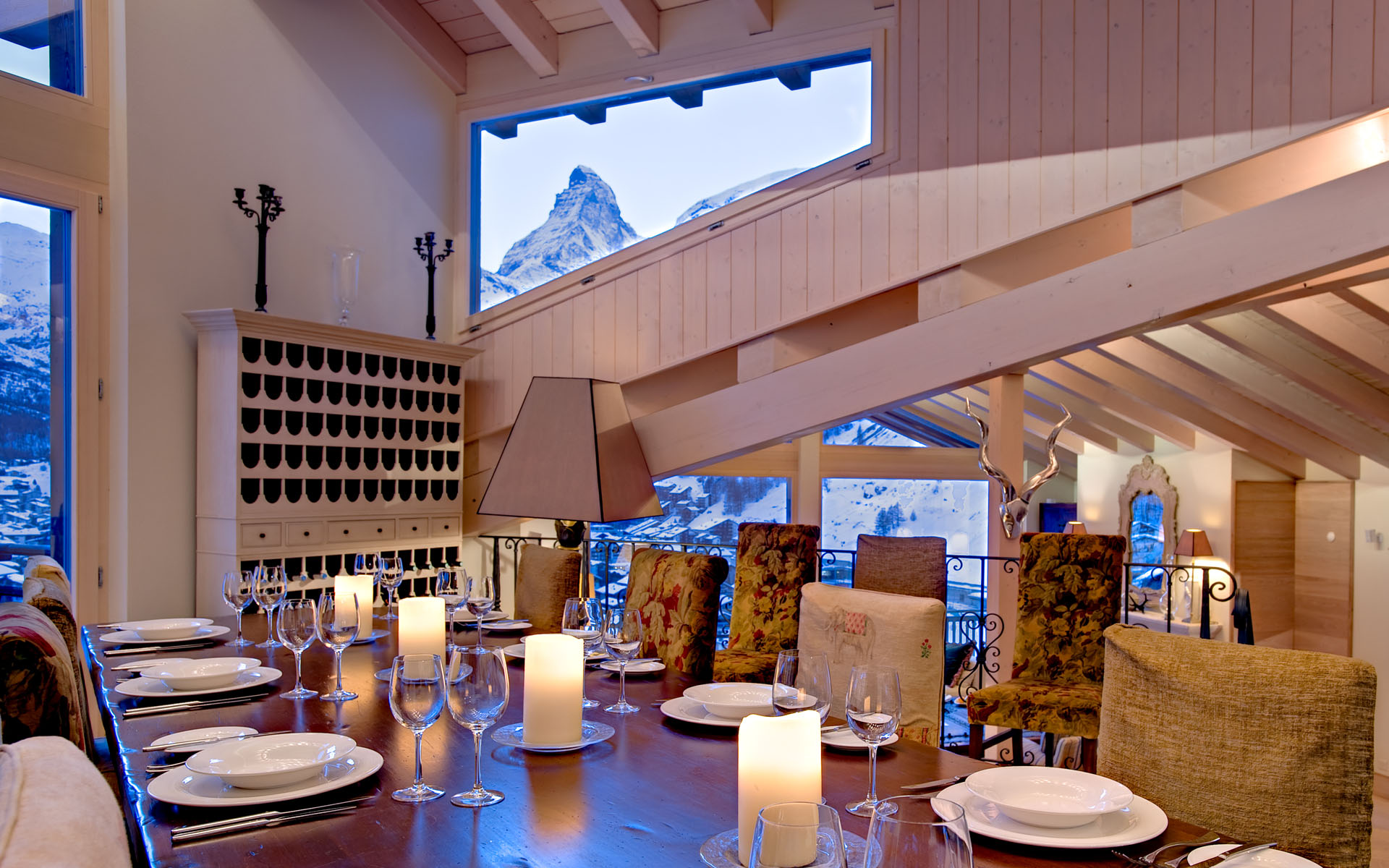 Luxury Ski Chalet With Stupendous View Of The Matterhorn