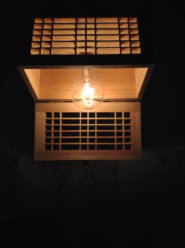 Ceiling Box Pendant Light