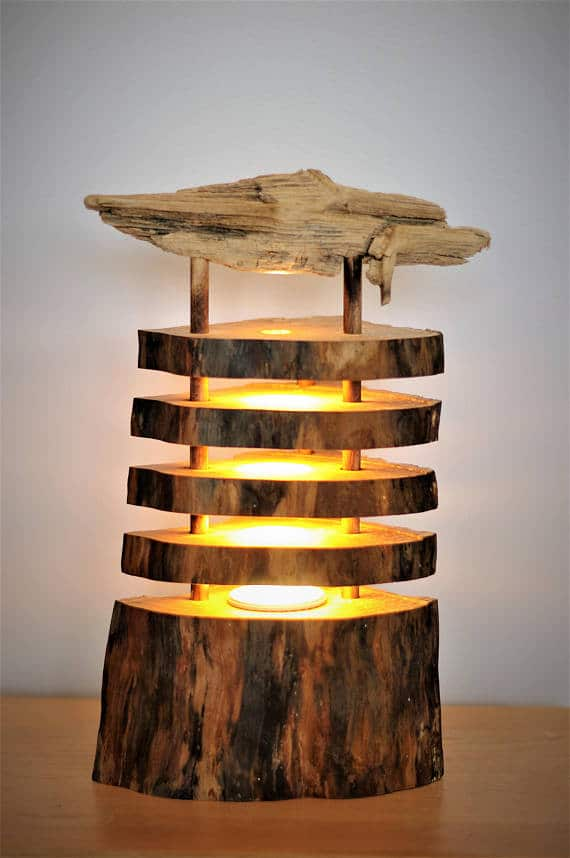 Seaside Driftwood Log Lamp Id Lights