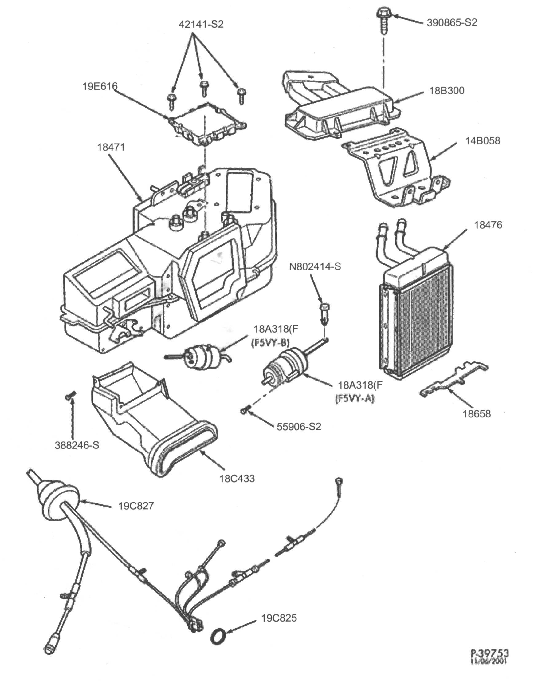 Air door actuator location 2004 explorer on ford ranger vacuum leak