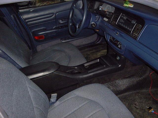Crown Victoria Lx Sport Interior