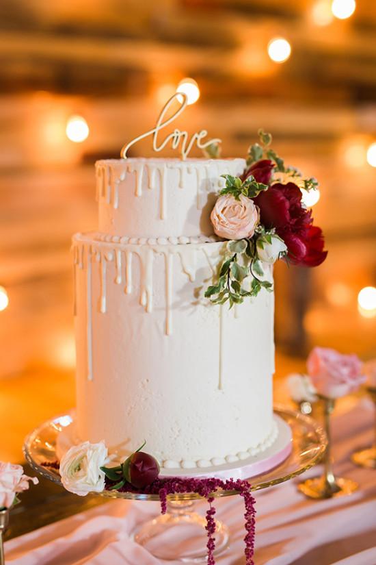 Decadent Drip Wedding Cakes I Do Y All