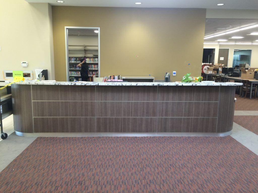 Custom Reception Desks I Amp E Cabinets