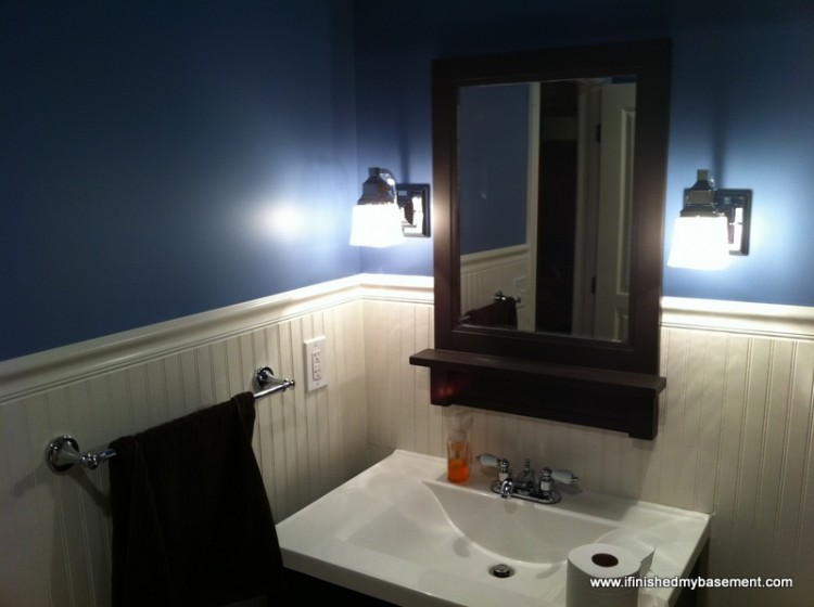 Basement Bathroom Design Ideas   3 things I wish I d done differently  basement bathroom   finishing your basement