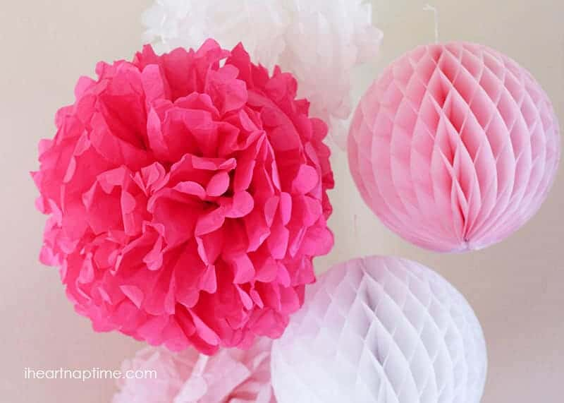 How To Make Tissue Paper Flowers   I Heart Nap Time DIY tissue paper flowers