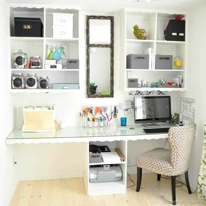 Clever Storage Ideas Home Office
