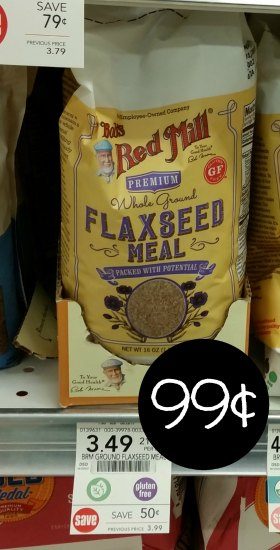 Bob's Red Mill Flaxseed Meal - Just 99¢ At Publix