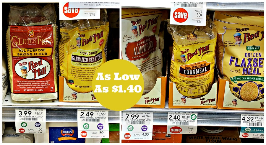 Bob's Red Mill Products As Low As $1.40 At Publix