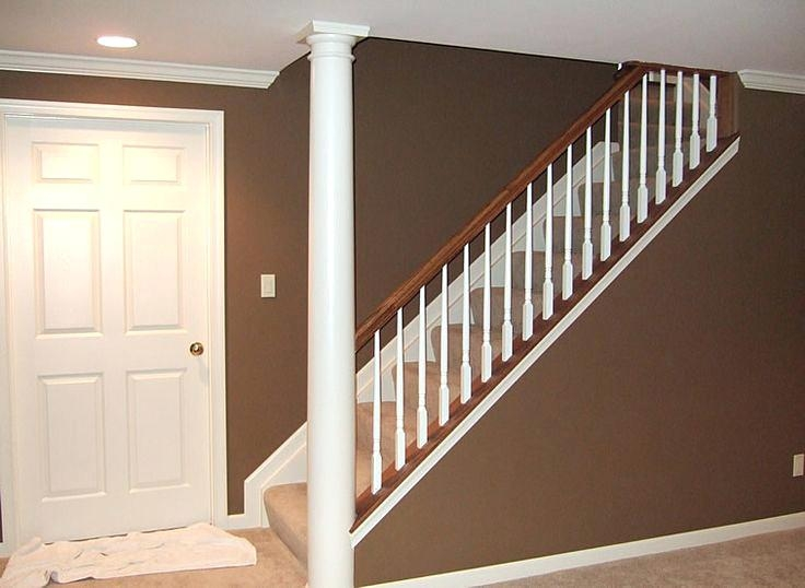 Other Open Basement Stairs Excellent On Other Throughout Stair | Opening Up Basement Stairs | Underneath | Landing | Living Room | Wall | Basement Above