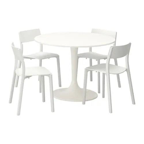 Docksta Janinge Table And 4 Chairs Ikea