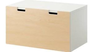 STUVA Storage Bench White/birch IKEA