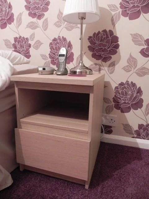 Malm Nightstand Shelf Conversion Two Becomes One Ikea