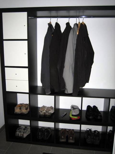 Expedit Wardrobe Ikea Hackers