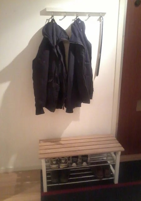 Tjusig Shoe Rack Turned Small Bench Ikea Hackers