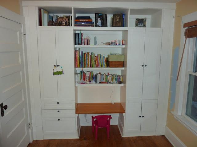 Kid S Built In Wardrobe Closet Ikea Hackers