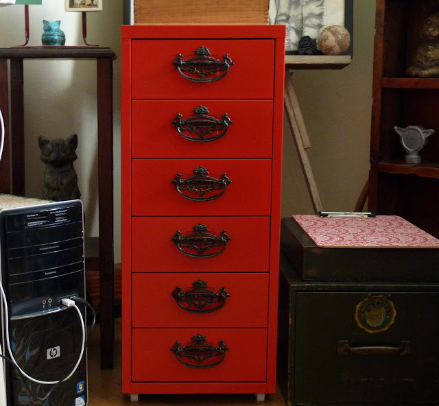 Craft Room Ikea Cabinets