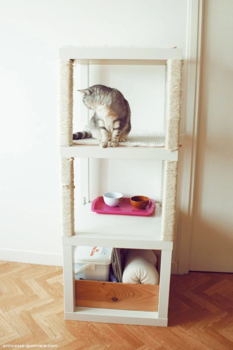 Cat Tree With Ikea Lack Ikea Hackers