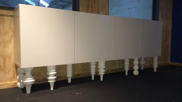 Besta Wall Cabinets Mod To Sideboard Ikea Hackers Ikea