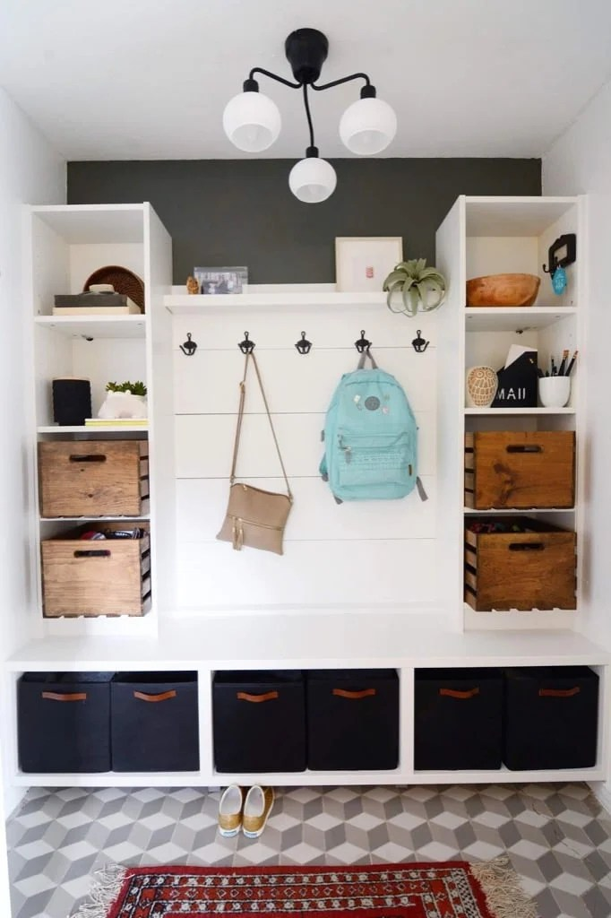 Look At This Mudroom Here S How To Hack It In A Day