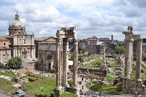 The Roman Forum and the Palatine Hill - The Colosseum