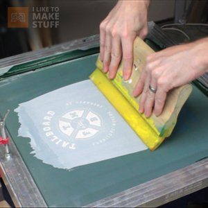 How to screen print your own t shirts   I Like to Make Stuff Screen Print your own t shirts    How To