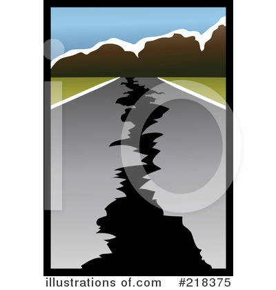 Earthquake Clipart 218375 Illustration By Pams Clipart