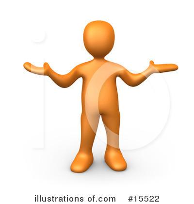 Orange People Clipart 15522 Illustration By 3pod
