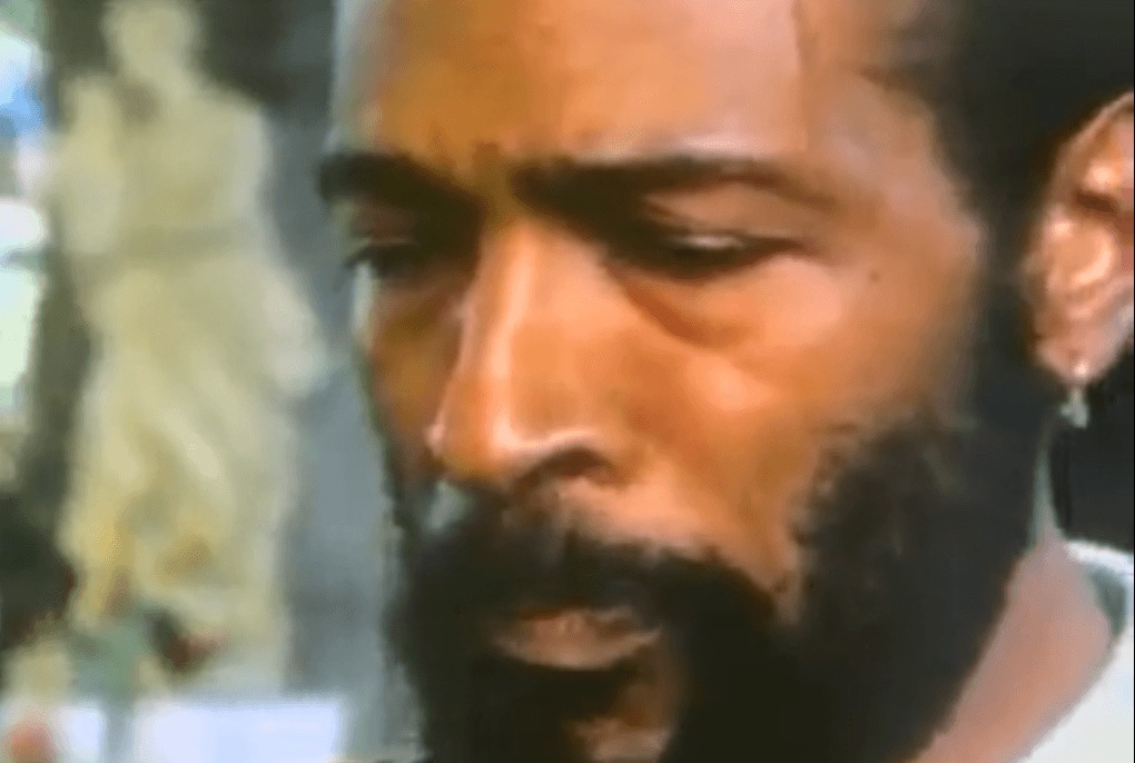 Wow! Raw Footage of Marvin Gaye