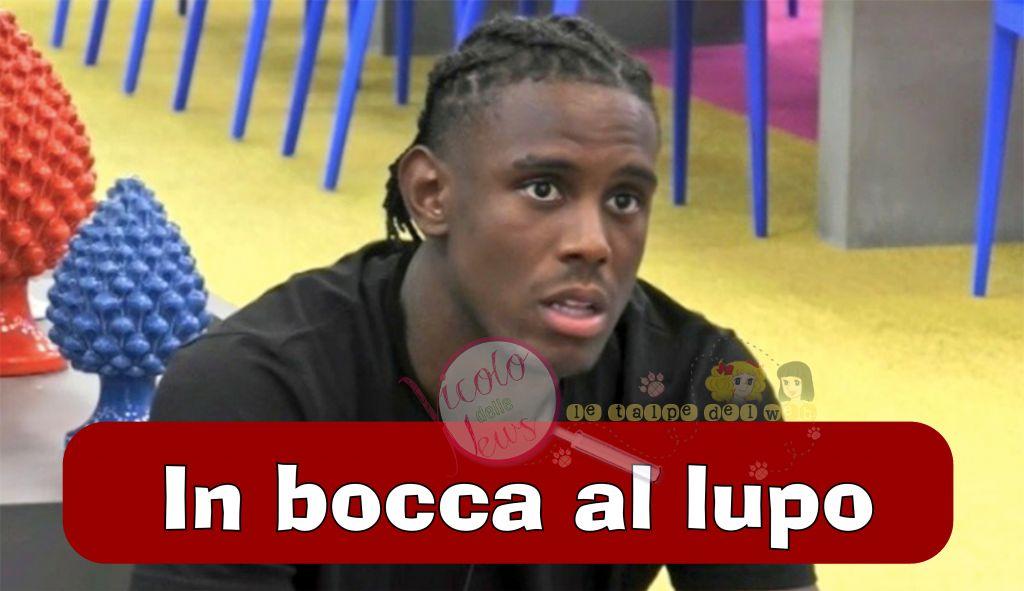 'Grande Fratello Vip' Enock Barwuah lascia l'Italia perchè…