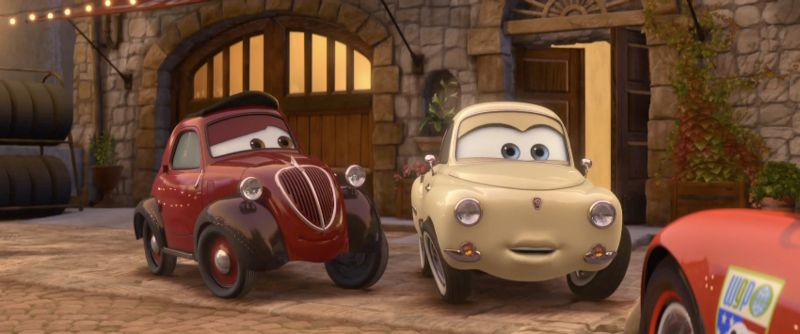 Imcdb Org Fiat 500 A Uncle Topolino In Quot Cars 2 2011 Quot