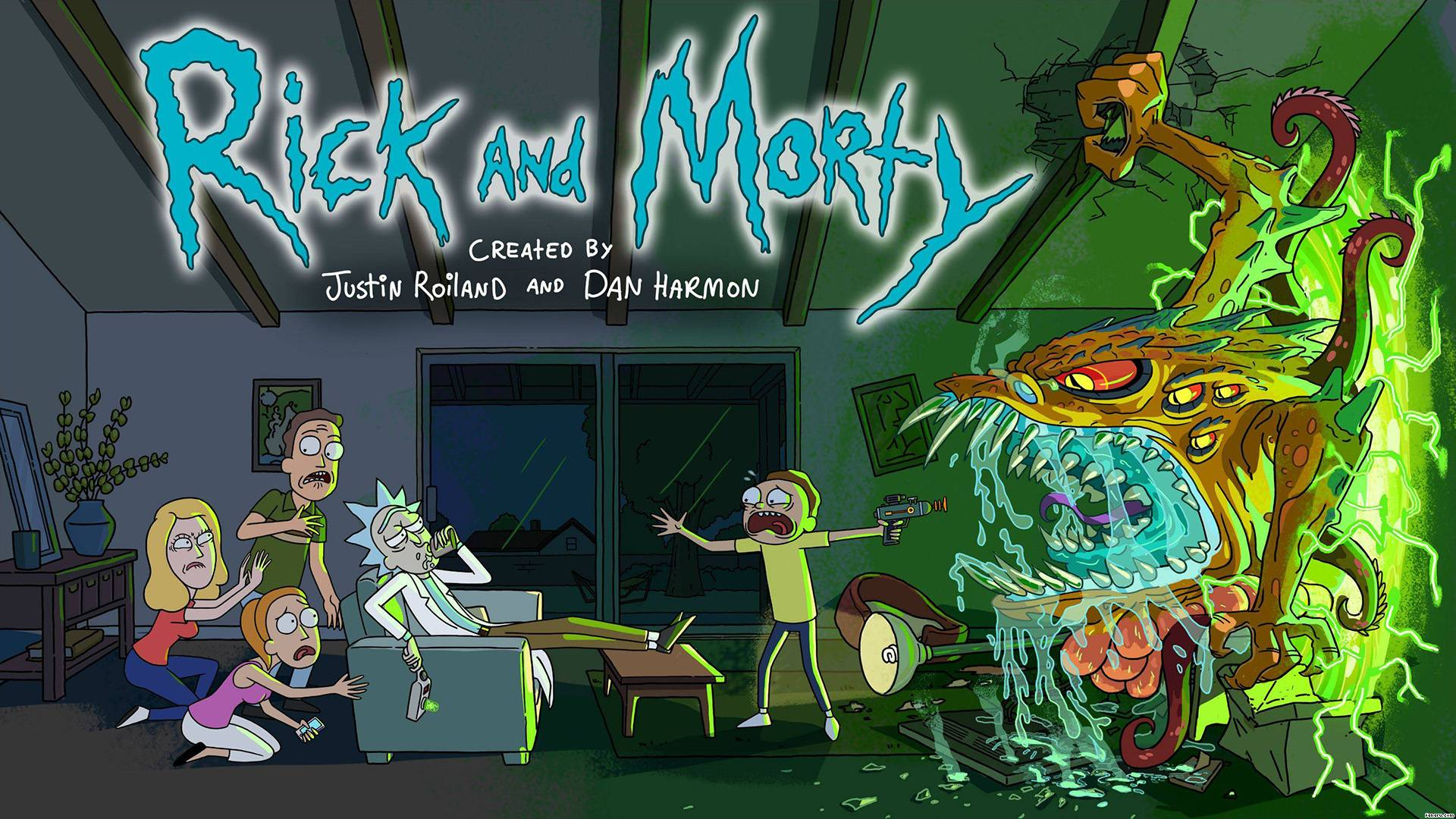 Rick and Morty Wallpapers   WallpaperVortex com Rick and Morty Res  1920x1080 HD   Size 326kb