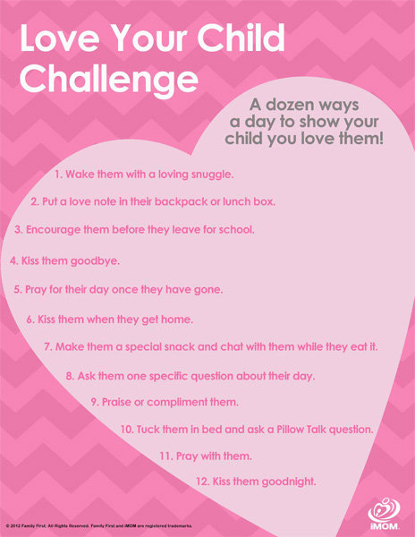 Love your child challenge imom, coloring pages i love you mom