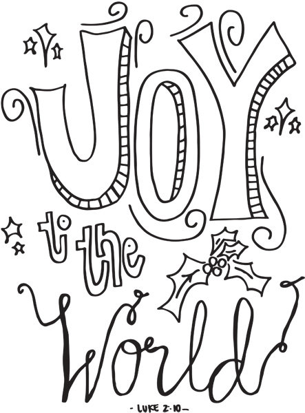 3 Cute Christmas Coloring Pages - iMom